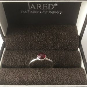 Jared Pandora Ruby Sterling Silver Ring*BRAND NEW*